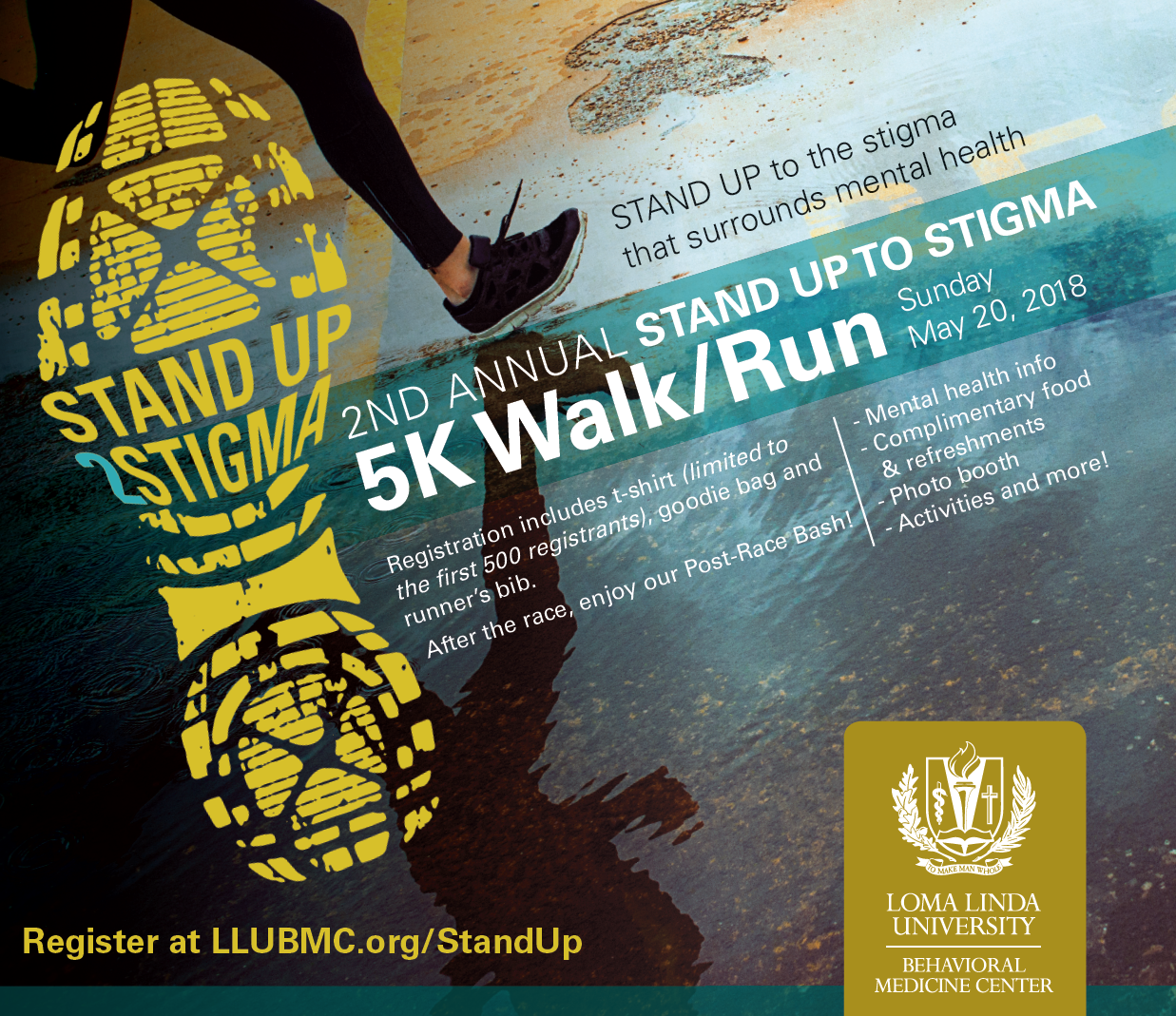 Stand Up To Stigma 5k School Of Behavioral Health Loma Linda