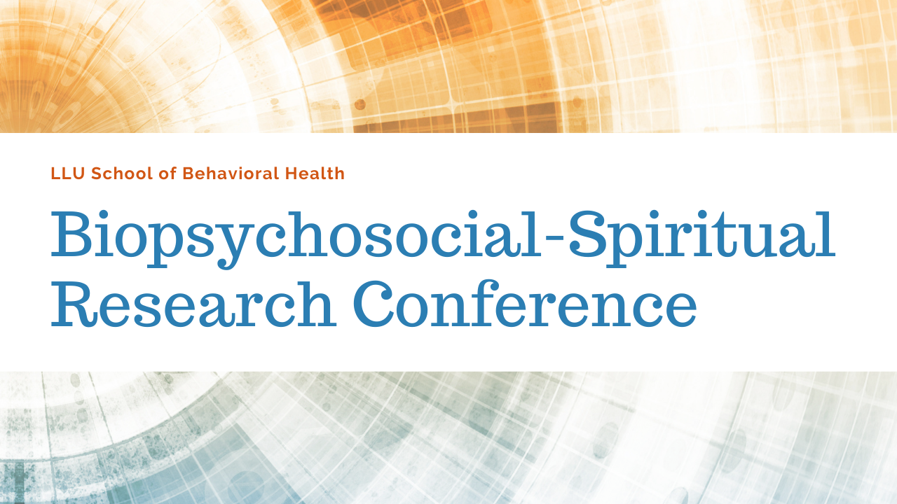 SBH Biopsychosocial-Spiritual Research Conference header