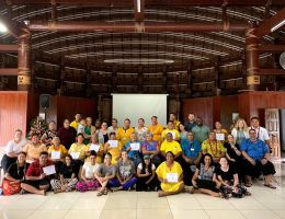 SBH trainers and trainees in Samoa